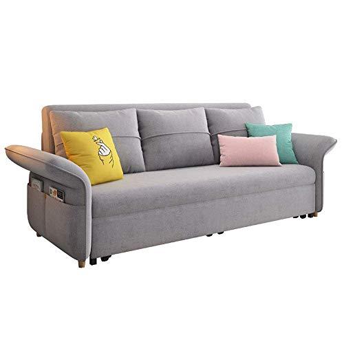 N/Z Home Equipment Klappstoff Loveseat Sleeper Sofa Ausziehbare Futon Couch Sofa Cabrio Bett Weich und bequem Multifunktionssofa Möbel Sitzkissen für Wohnzimmer Wohnung 1.0M