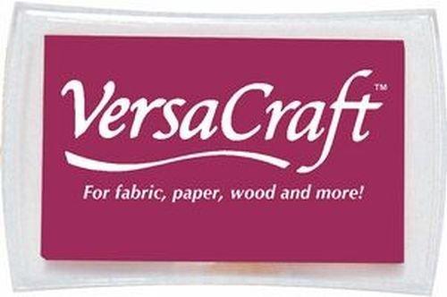 VersaCraft Stempelkissen für Briefmarken–Parent burgunderfarben