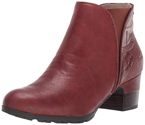 Jambu Women's Roma Ankle Boot, Whiskey, 8 M US