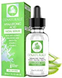 OZNaturals Hyaluronic Acid Serum for Face: Hyaluronic Facial Serum with Vitamin C