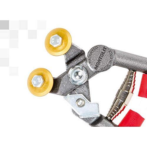 MONTOLIT Mosaik-Zange für Keramik und Glas (Art.55W2) für professionelle Fliesenleger/Fliesenwickler