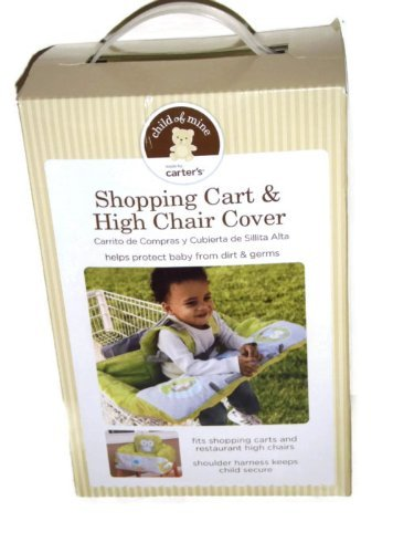 Shopping Cart and High Chair Cover By Carter