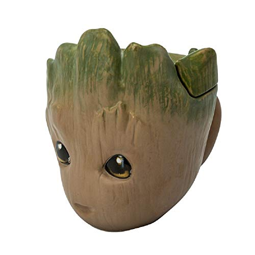 Guardians of the Galaxy Vol 2 - 3D Tasse - Baby Groot - Kaffeebecher Mug - keramik - Geschenkbox