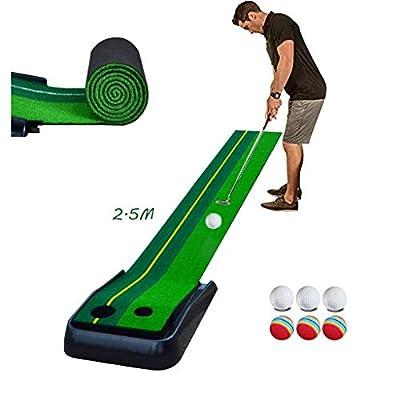 Golf Puttingmatte Complete-Puttingteppich Putter