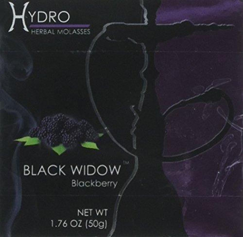 Hydro Herbal 50g Blackberry Hookah Shisha Tobacco Free Molasses