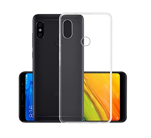CoverKingz Handyhülle für Xiaomi Redmi Note 5 - Silikon Handy Hülle Note 5 - Soft Hülle Slim Cover Transparent