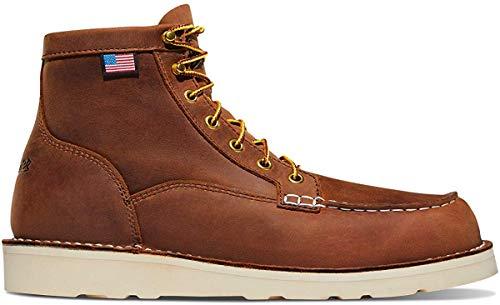 """Danner Men's 15573 Bull Run Moc Toe 6"""" Work Boot, Tobacco - 10 D"""