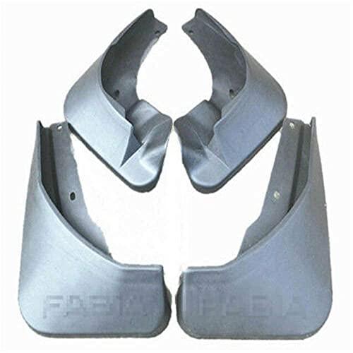 YUHUIXU 4 Uds Guardabarros de Coche, para Skoda 2014-2018 Fabia MK3 (NJ5 Hatchback Guardabarros Guardabarros Guardabarros 2015 2016 2017