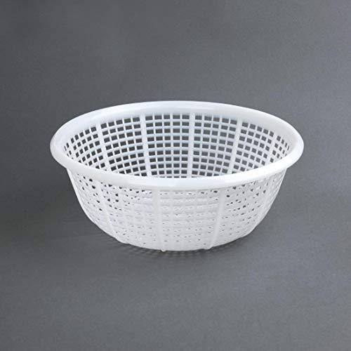 Vogue 135 Round Colander Polyethylene, 290 mm, White