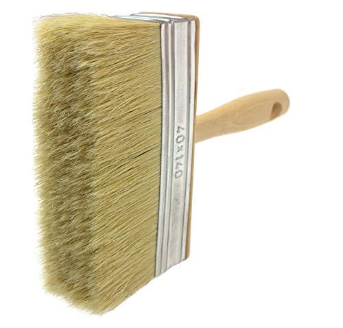 Tapezierbürste, natürlicher Malerpinsel, Malerbürste, Zaunpinsel, Natural Bristle Hair, 40x140