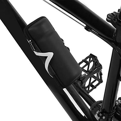 Camidy Fahrradsatteltasche Hartschale Fahrradkesseltasche Mountainbike unter Sitzwartung Fahrradwerkzeug
