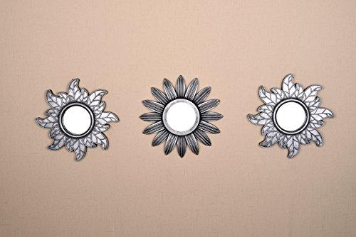 Todos los American colección nueva Seperated Accent de pared decorativa en forma de espejo 3piezas, pantalla