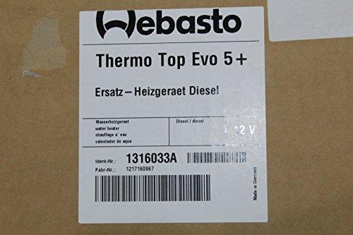 Unbekannt: Webasto Calefactor Auxiliar Thermo