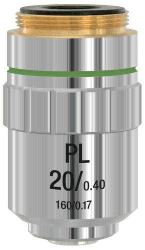 Bresser Objektiv, 5941520, DIN-PL 20x planachromatisch (Mikroskop)