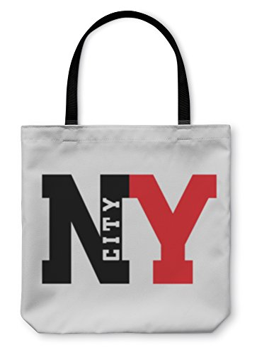 Gear New Shoulder Tote Hand Bag T Shirt New York City 16x16 6072496GN