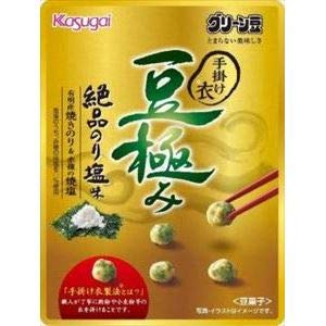 春日井製菓 小袋豆極み絶品のり塩味 28g ×8袋