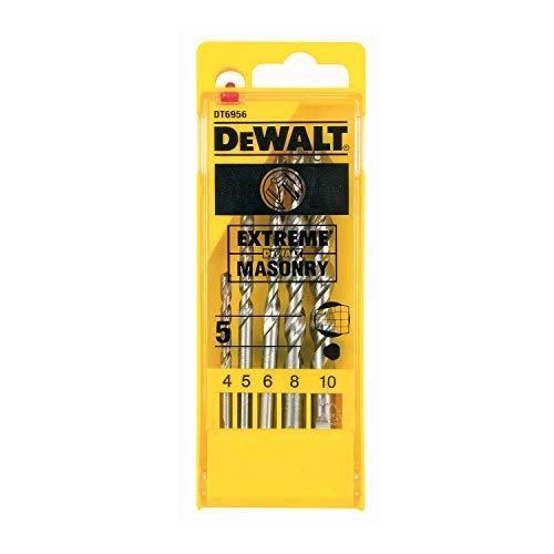DeWalt Extreme 2 Masonry Drill Bit Set 5Pcs