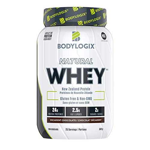 Bodylogix Natural Whey, Decadent Chocolate, 840 g