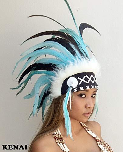 kenai Federhaube,War Bonnet,Indian Headdress,Indianerhaube,Coiffe indienne,Squaw,Little Big Horn