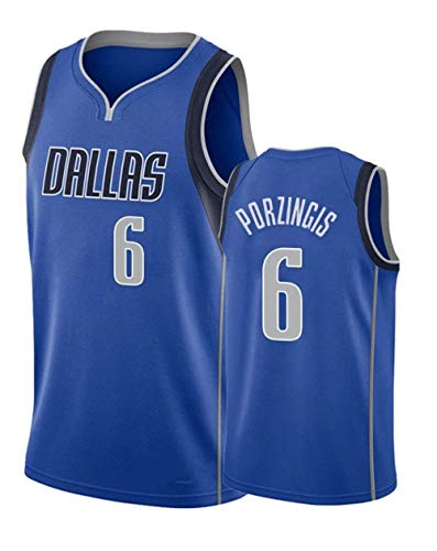 MTBD Basketball T-Shirt NBA Dallas Mavericks 77 Doncic, Herren Basketball Uniform Klassisches Stickerei Top