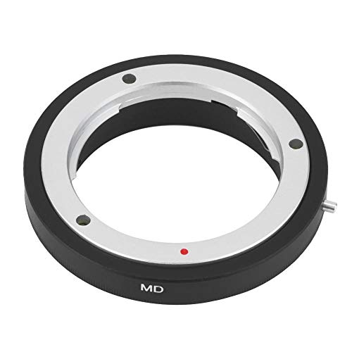 Ring Konverter für Kamera, MD-EOS Mount Objektiv Adapter Ring Nahaufnahme für Minolta MD MC für Canon EF Mount Kameras, aus hochwertigem Metall, hochfest und verformungsfrei