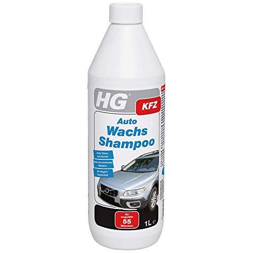 HG 238100105 Auto Wachs Shampoo 1L – ein ultramodernes Autoshampoo für brillianten Glanz und noch besseren Schutz