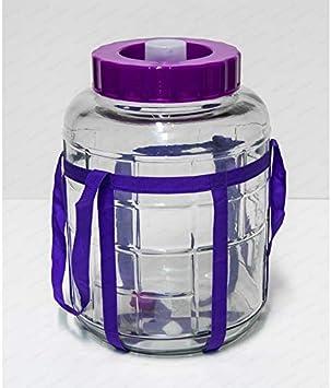 SET Gärballon Gärbehälter  Glasballon Zubehör TRICHTER Ballonbürste Abfüller