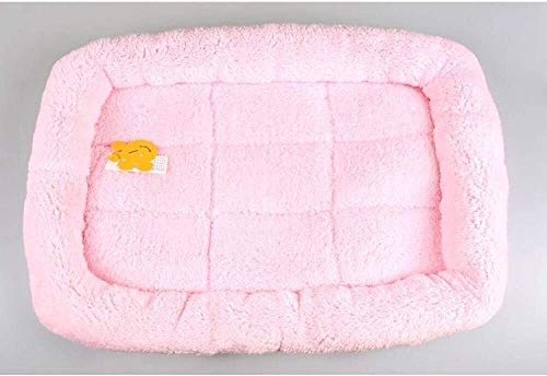 YYhkeby Weiche warme Hundebett for Klein Big Grosstiere Pet Lounger Sofas Katze Zwinger Tierbedarf S M L XL XXL-pink_XL, blau, S Jialele ( Color : Pink , Size : Small )