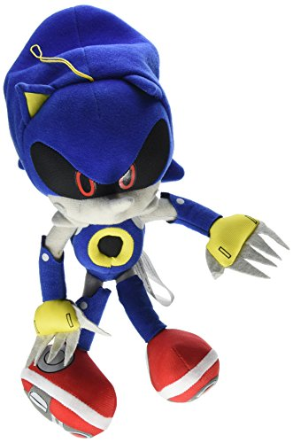 Great Eastern GE-52523 Sonic The Hedgehog 11' Metal Sonic Stuffed Plush