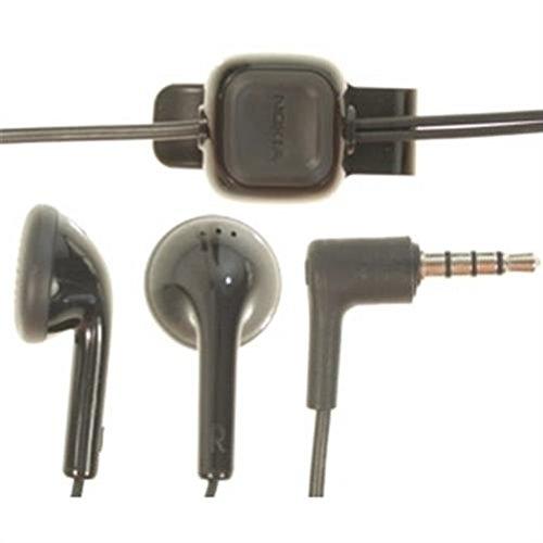 Nokia WH-102 Headset Stereo, kabelgebunden, Schwarz