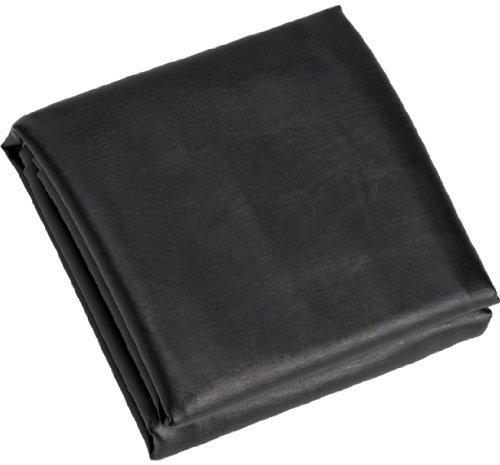 CueStix International Fitted Heavy Duty Naugahyde Pool Table Cover for 8-Feet Table, Black