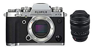 Fujifilm X-T3 Mirrorless Digital Camera, Silver with Fujinon XF8-16mm F2.8 R LM Weather Resistant Lens kit (B07NH4FT36)   Amazon price tracker / tracking, Amazon price history charts, Amazon price watches, Amazon price drop alerts
