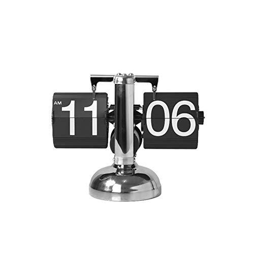 Reloj decorativo RELOJ DE TABLA - LUZ DE LUJO DE LUJO PÁGINA AUTOMÁTICA RELOJ DE RELOJ DE RELOJ DE LA TABLA DE LA TABLA DE LA MESA NORDICA SIMPLE MECÁNICO CLIENTO PERSONALIDAD PERSONALIDAD GURANDO ARN