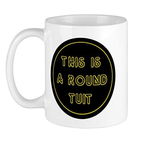 CafePress Einzigartige Tasse rund Tuit–Tasse–S Weiß, keramik, Weiß, Größe S