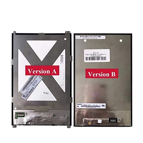 HUOGUOYIN Displayersatz Fit für Huawei MediaPad M1 8.0 S8-306L S8-301L S8-301U S8-701U T1-821 T1-821W T1-823 LCD-Anzeige Matrix-Display Ersatz Ersatzsatz für Reparatursatz (Color : Version b)