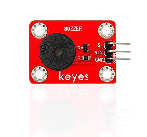 pzsmocn Passive Buzzer Module, Four Positioning Holes Allow You to Attach it to Other Devices.3PIN Interface.