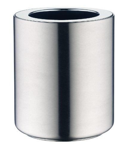 alfi 0387.205.000 Aktiv-Flaschenkühler icePod, Edelstahl mattiert, für Flaschen bis 1,0 L