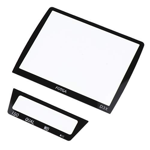 Shiwaki Cubierta de Película Protectora de Pantalla LCD de Alta Transparencia para Cámara D3 / D3x