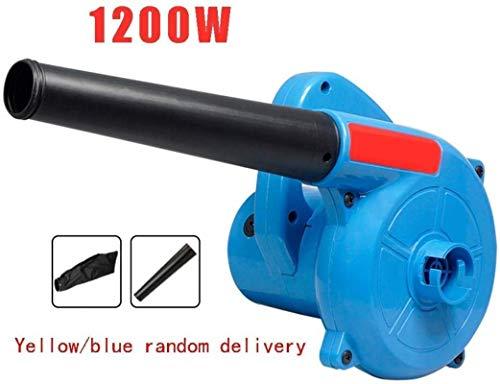 Garten Laubsauger Compact Klinge mit Drahtgebundene Variable Speed elektrischen Staub Vacuum Elektro-Kehrmaschine for Heim Industrie und Gewerbe (Color : 1200w)