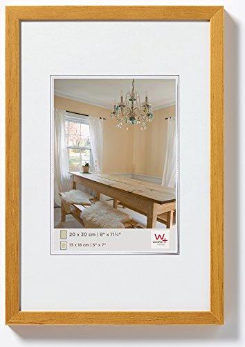 walther design BP130E Peppers Bilderrahmen, Holz, 21 x 29,7 cm, eiche