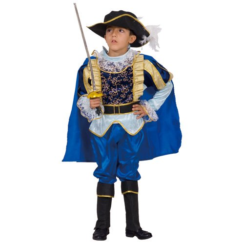 Dress Up America Disfraz de Noble Caballero Azul para Niños