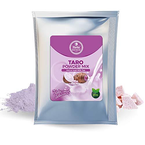 Flavfar Taro Bubble Tea Powder – Global Chain Store Designated Dedicated Taro Powder Mix for Bubble Tea Shop | 35 Ounce, 2.2 Pound