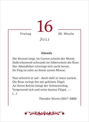 Mit deutschen gedichten dur das Jahr