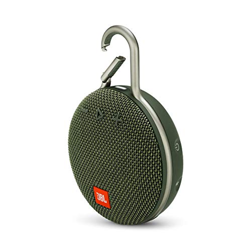 JBL Clip 3 Portable Waterproof Wireless Bluetooth Speaker - Forest Green