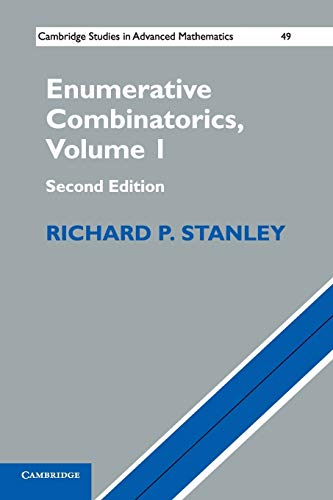 Compare Textbook Prices for Enumerative Combinatorics: Volume 1 Cambridge Studies in Advanced Mathematics 2 Edition ISBN 9781107602625 by Stanley, Richard P.