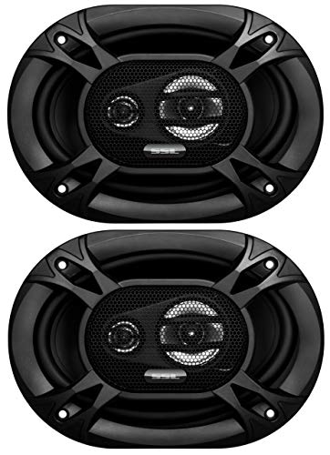 Sound Storm Labs EX369 300 Watt Per Pair 6 x 9 Inch Full Range 3 Way Car Speakers Sold in Pairs
