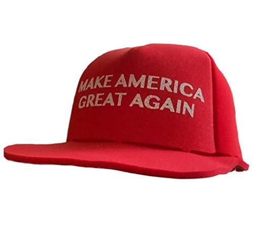 Huge Foam MAGA Hat Make America Great Again Donald Trump Giant MAGA Hat Red