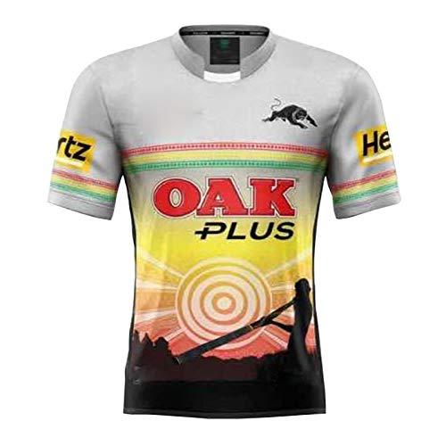 2021 Jaguar Auswärts Rugby Jersey, Sommersport Breathable Casual T-Shirt Fußball-Hemd-Polo-Hemd, Beste Geburtstags-Geschenk S