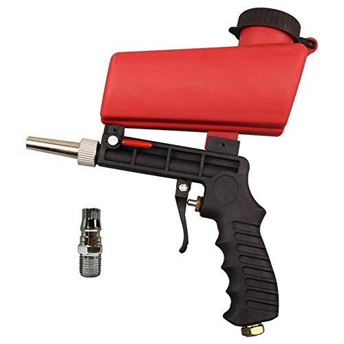 Pistola de arena neumática portátil y fácil de transportar, kit de herramientas...