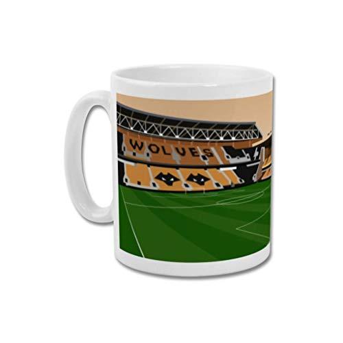 Wolverhampton Wanderers FC'Molineux' - Home.Ground.Mugs English Premier League Football Stadium Graphic Mug Gift Collection WWFC Wolves